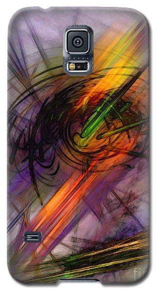 Blazing Abstract Art Galaxy S5 Case