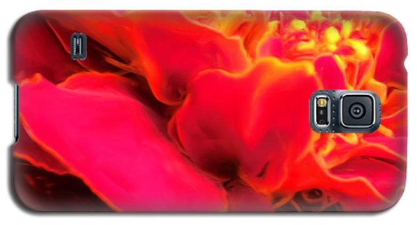Blazing Pink Marigold Galaxy S5 Case