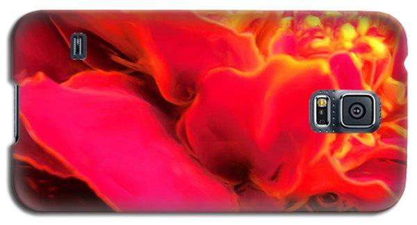 Blazing Pink Marigold Galaxy S5 Case