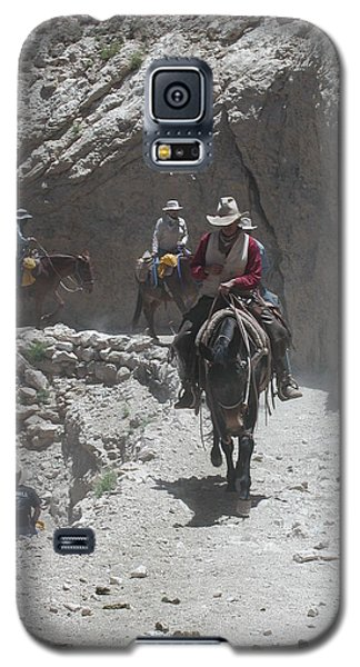 Galaxy S5 Case featuring the photograph Blazing The Trail by Nancy Taylor