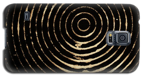 Bleached Circles Galaxy S5 Case by Cynthia Powell