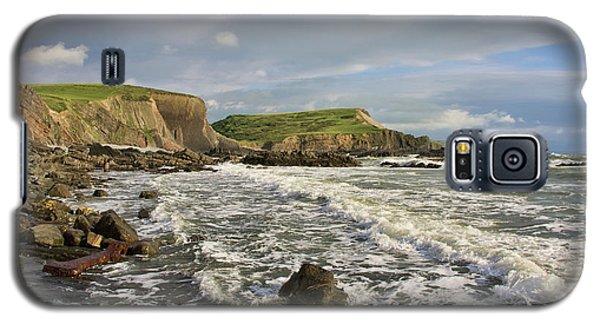 Blegberry Beach In North Devon Galaxy S5 Case