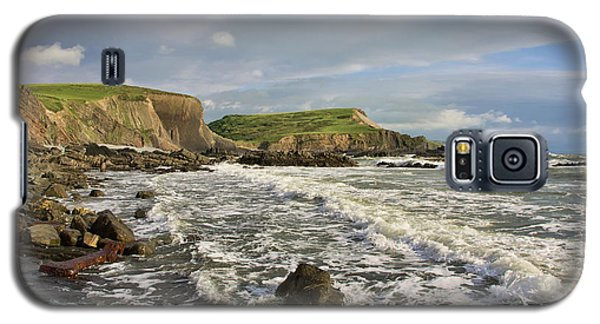 Blegberry Beach In North Devon Galaxy S5 Case