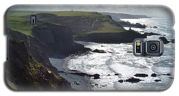 Blegberry Cliffs From Damehole Point Galaxy S5 Case