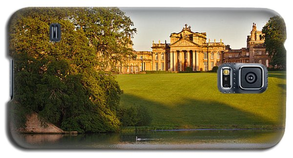 Blenheim Palace And Lake Galaxy S5 Case