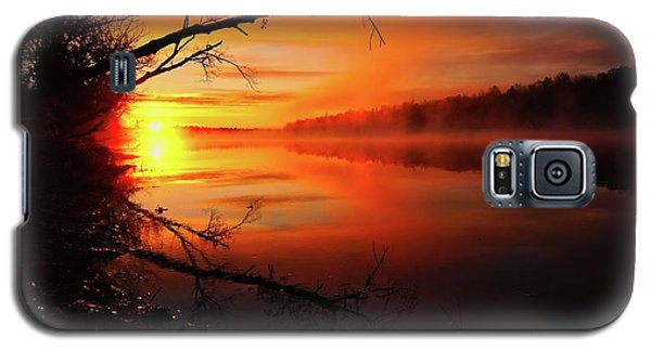 Blind River Sunrise Galaxy S5 Case