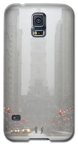 Snow In The City Galaxy S5 Case