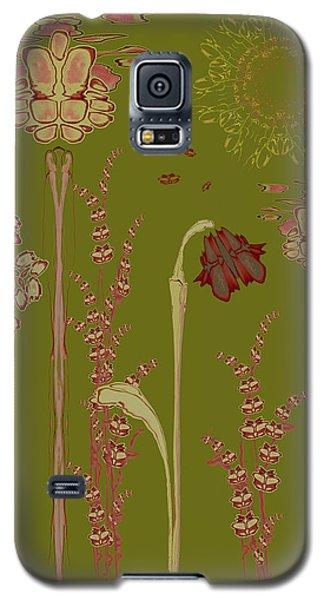 Blob Flower Garden Galaxy S5 Case