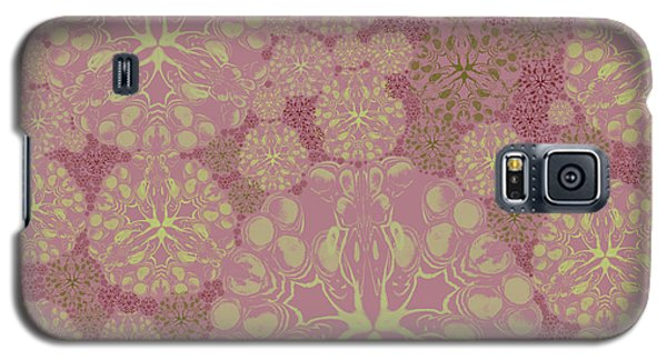 Blob Flower Painting #3 Pink Galaxy S5 Case