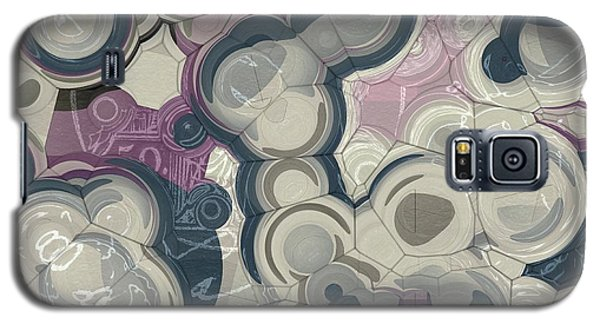 Galaxy S5 Case featuring the digital art Blobs - 01c01 by Variance Collections