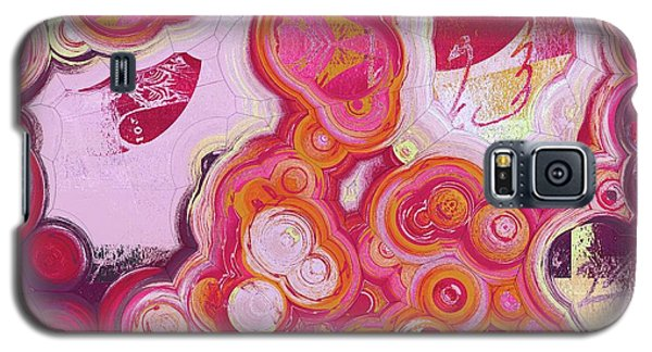 Galaxy S5 Case featuring the digital art Blobs - 03v2c7b by Variance Collections