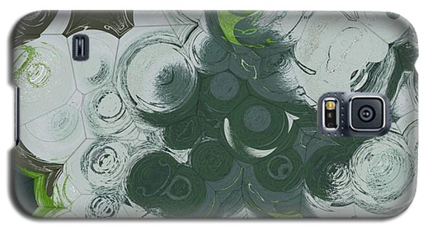 Galaxy S5 Case featuring the digital art Blobs - 13c9b by Variance Collections