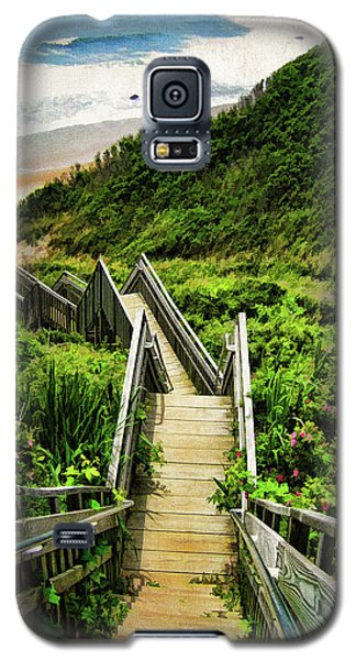 Landscapes Galaxy S5 Case - Block Island by Lourry Legarde