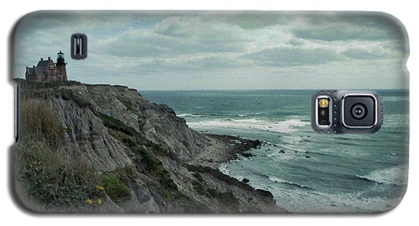 Block Island South East Lighthouse Galaxy S5 Case by Skip Willits