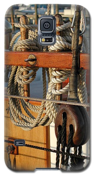 Block  Line  And Tackle Galaxy S5 Case