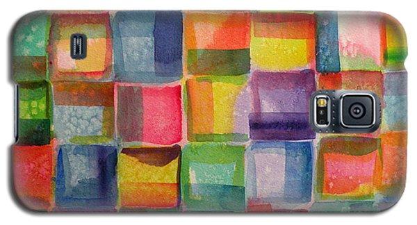 Blocks II Galaxy S5 Case by Holly York
