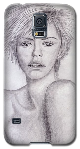 Blond Girl Galaxy S5 Case