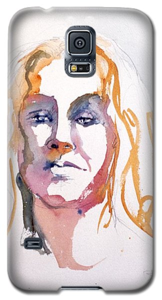 Blonde #1 Galaxy S5 Case