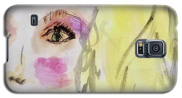 Blonde Galaxy S5 Case