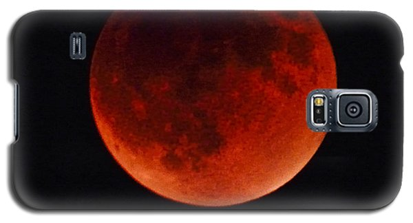 Blood Moon #4 Of Tetrad, Without Location Label Galaxy S5 Case