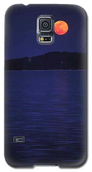 Blood Moon - Black Point - Lake Geneva Wisconsin Galaxy S5 Case