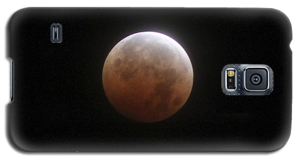Blood Moon Galaxy S5 Case by Cathie Douglas