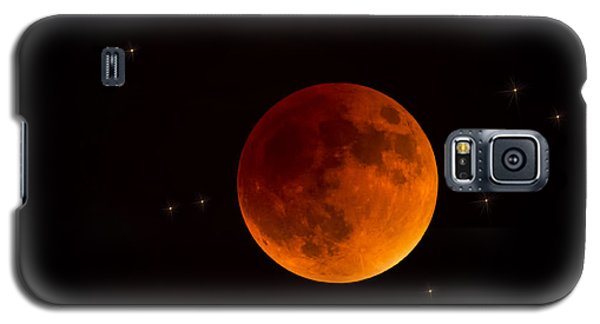 Blood Moon Lunar Eclipse 2015 Galaxy S5 Case