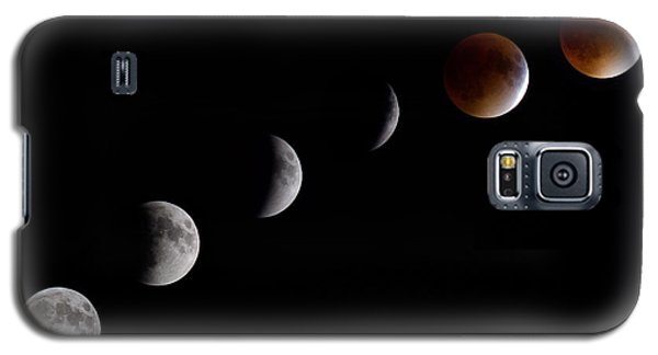 Blood Moon Lunar Eclipse Galaxy S5 Case