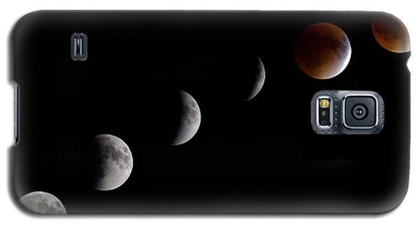 Blood Moon Lunar Eclipse Galaxy S5 Case