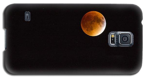 Blood Moon Luna Eclipse Galaxy S5 Case