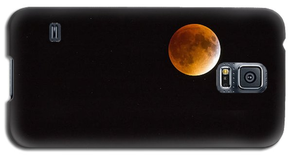 Blood Moon Luna Eclipse Galaxy S5 Case