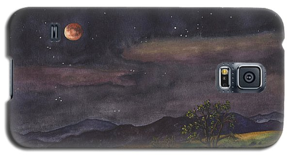 Blood Moon Over Boulder Galaxy S5 Case