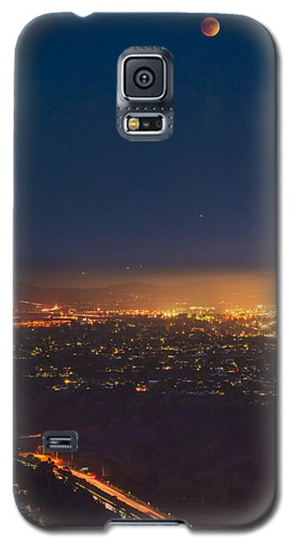 Blood Moon San Diego Galaxy S5 Case