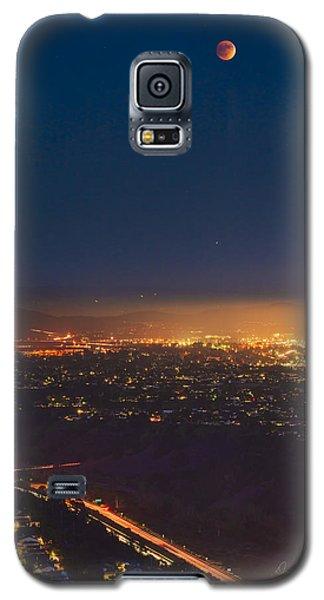 Blood Moon San Diego Galaxy S5 Case