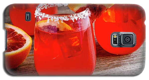 Galaxy S5 Case featuring the photograph Blood Orange Margaritas by Teri Virbickis