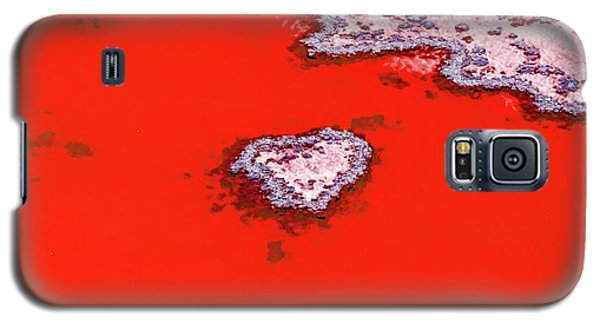 Galaxy S5 Case featuring the photograph Blood Red Heart Reef by Az Jackson