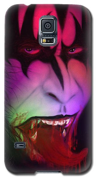Galaxy S5 Case featuring the painting Bloody Demon by Kevin Caudill
