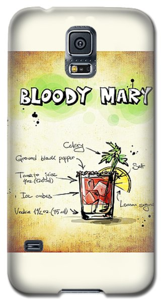Bloody Mary Galaxy S5 Case by Movie Poster Prints