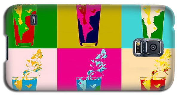 Bloody Mary Pop Art Panels Galaxy S5 Case by Dan Sproul