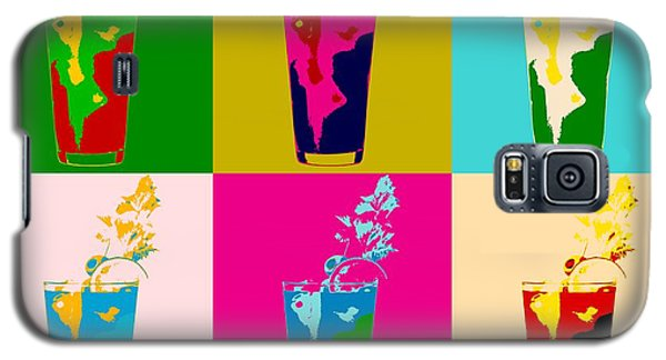 Bloody Mary Pop Art Panels Galaxy S5 Case