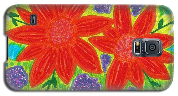 Bloomin' Blossoms Galaxy S5 Case