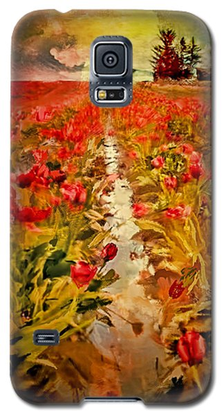 Bloomin Tulips Galaxy S5 Case