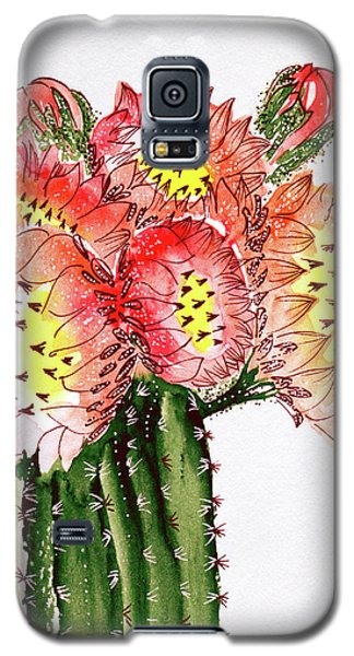 Blooming Cactus Galaxy S5 Case