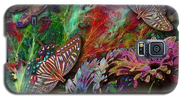 Blooming Color Galaxy S5 Case
