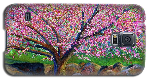 Blooming Crabapple In Evening Light Galaxy S5 Case