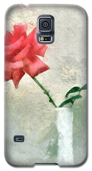Blooming Rose Galaxy S5 Case
