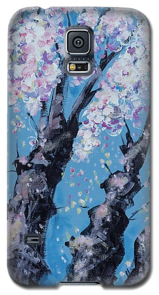 Blooming Trees Galaxy S5 Case