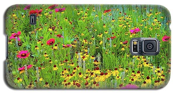 Blooming Wildflowers Galaxy S5 Case