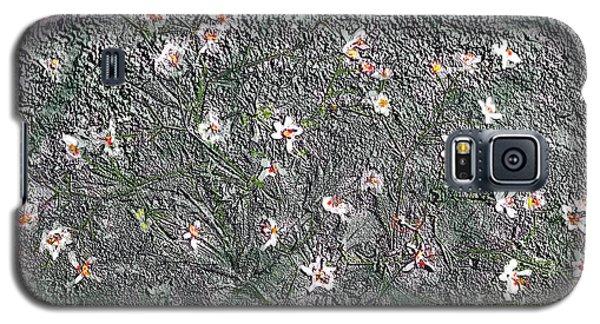 Blooms In Stone Galaxy S5 Case by Annlynn Ward