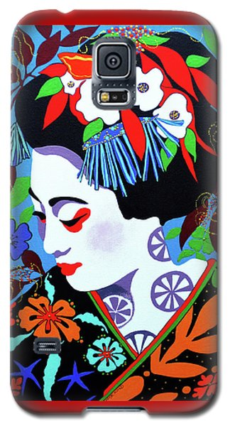 Blossom Galaxy S5 Case by Debbie Chamberlin